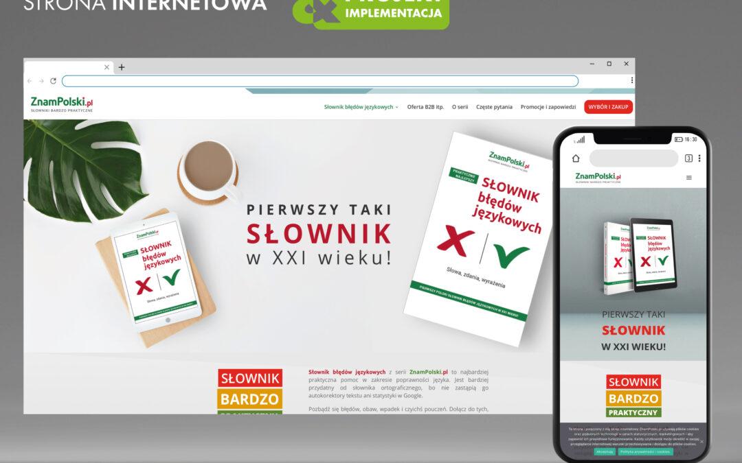 PROJEKT I IMPLEMENTACJA STRONY WWW – znampolski.pl