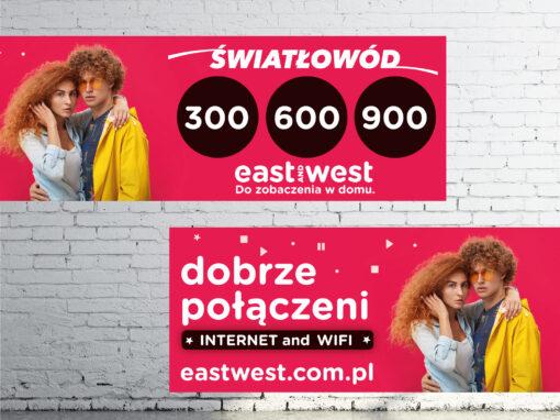 Ogromny Bilboard dla East and West